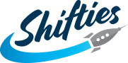 Shifties Logo White