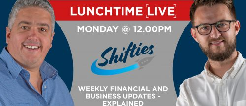 Shiftie MONDAY NIGHT LUNCHTIME @ 12 FB