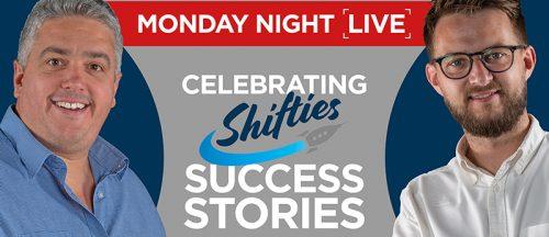 Shifties MONDAY NIGHT SUCCESS FB ADVERT