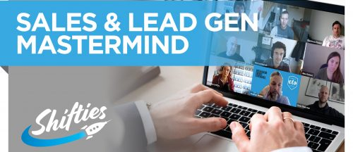 Shifties sales and lead gen mastermind